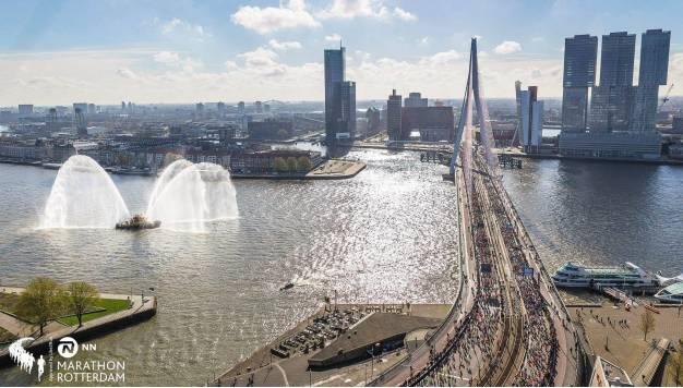 Hoe is het de marathonlopers met de '14' km voorbereiding in Rotterdam vergaan?