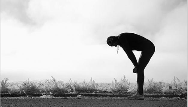 Het energieverbruik van de marathon en de man met de hamer