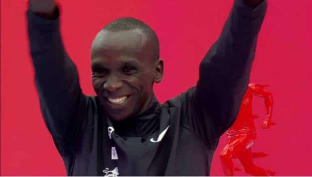 De Power van Eliud Kipchoge in Monza