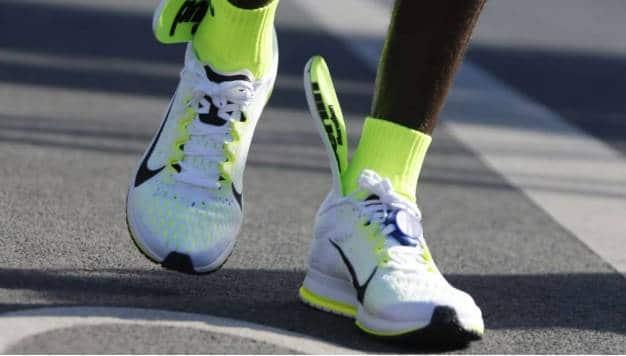 Ga je harder op wedstrijdschoenen?