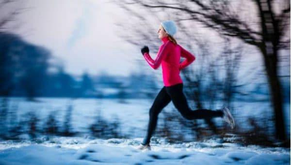 Trainen bij koud weer
