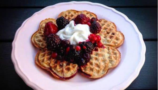 Karen's Kitchen: Gezonde hardloopwafels met fruit
