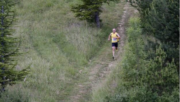 Hoeveel langzamer ga je op een zwaar parcours?