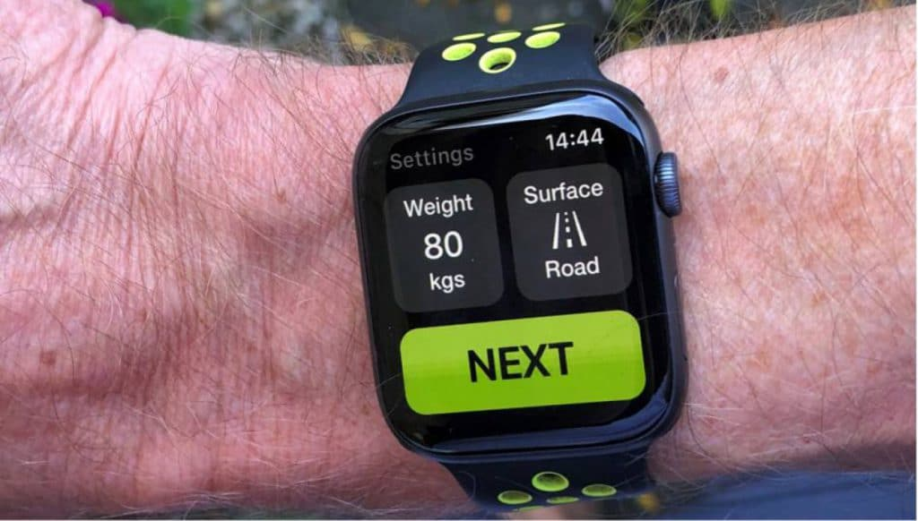 Power2Run app voor Apple watch
