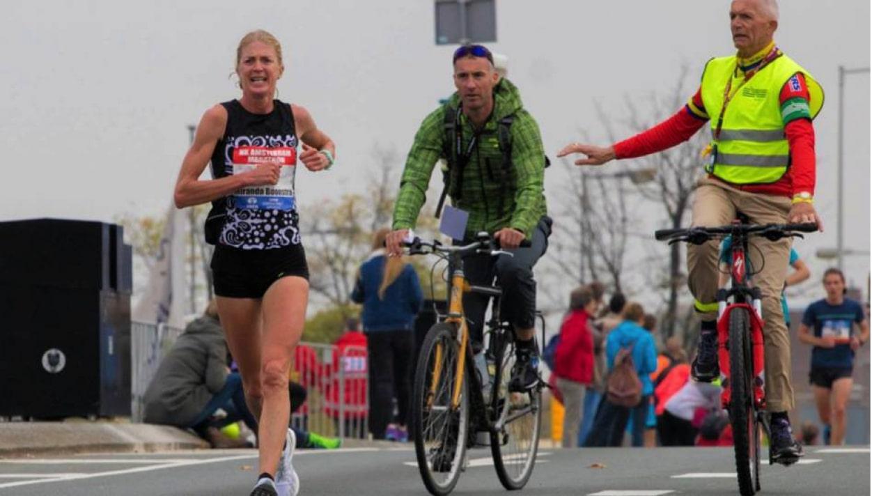 Trilogie voor Miranda Boonstra bij NK marathon