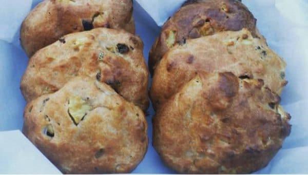 Karen's Kitchen: Kwarkbroodjes met appel en kaneel
