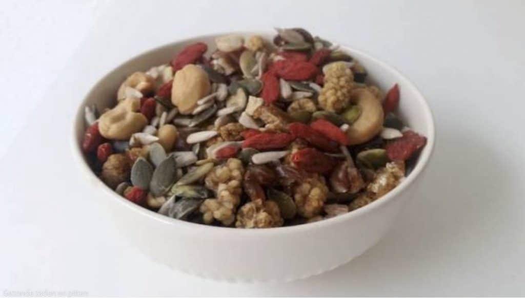 Gezond eten met Karen: Zaden en pittenmix salade