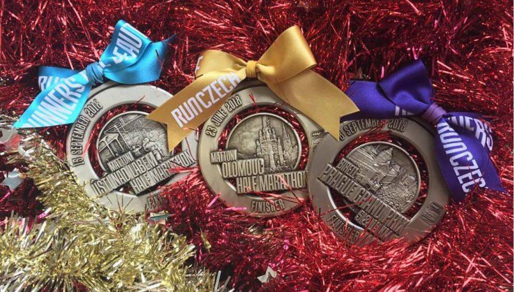 Kerstcadeau: Startnummer Praag Praag marathon
