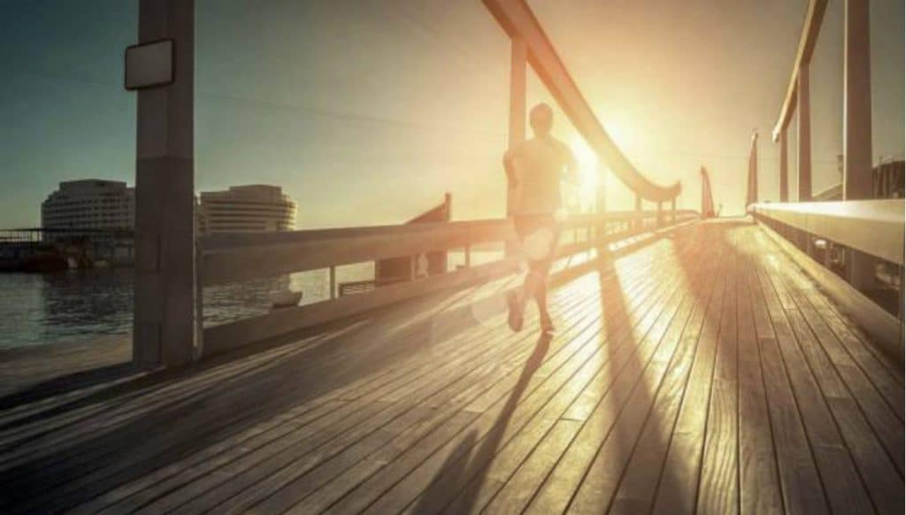 Rust nemen bij hardlopen heeft ook voordelen