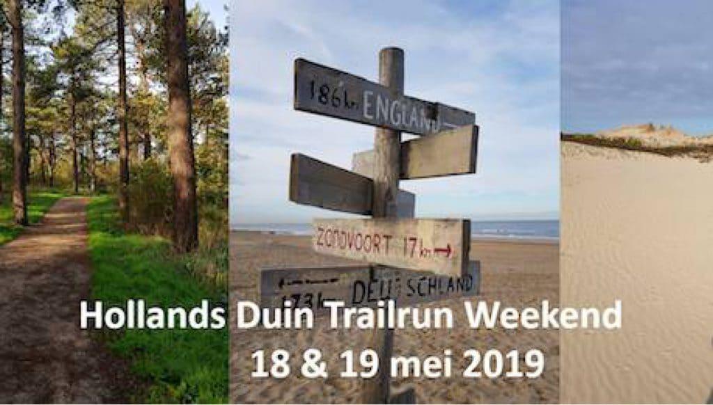 Trailrun 2-daagse door het Hollands Duin 18 & 19 mei