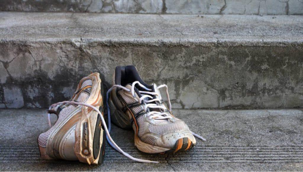 Zonder schoenen geen blessures?