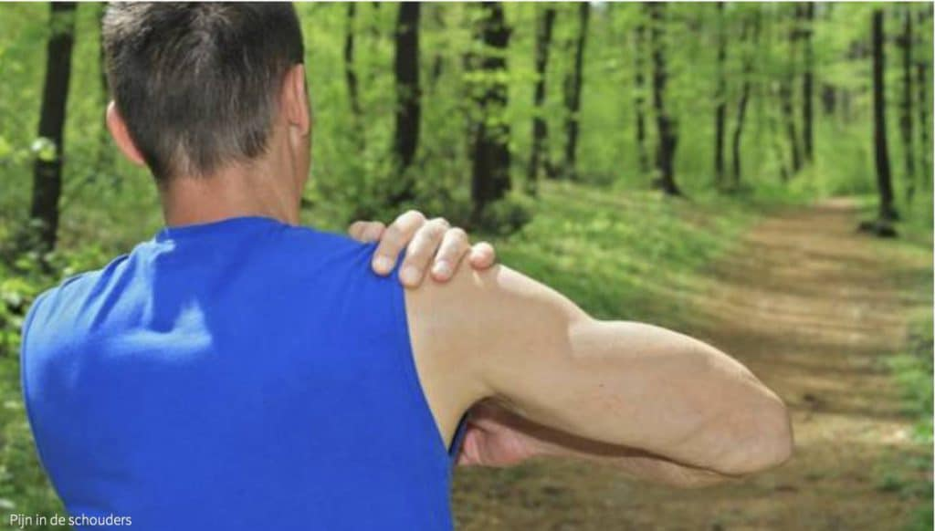 Last van je schouders tijdens trainingen