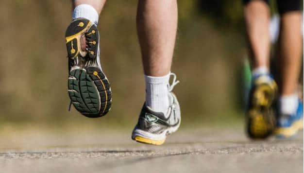 Wat gebeurt er met je voeten tijdens het hardlopen?