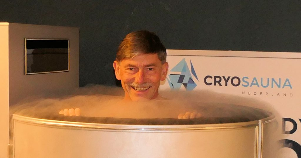 Zevenheuvelenloop na 139 graden onder nul: cryotherapie