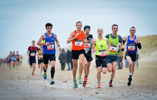 Egmond Halve Marathon: rekenen met de wind