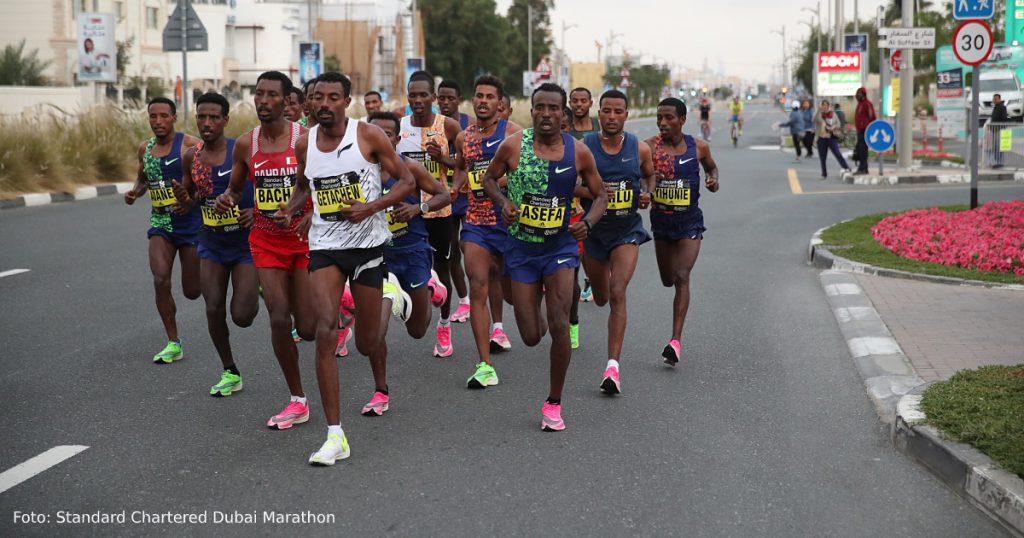 Marathon record Dubai
