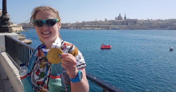 Malta Marathon: lente!