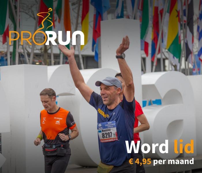 Word lid van ProRun: trainingsschema's, loopdoelen en meer