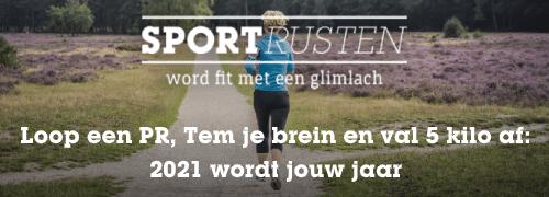 Loop een PR, Tem je brein en val 5 kilo af: 2021 wordt jouw jaar