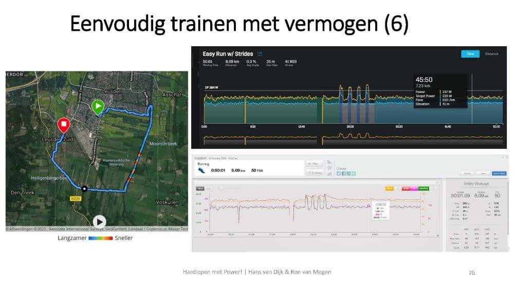 Eenvoudig trainen met vermogen met de Stryd Workout App
