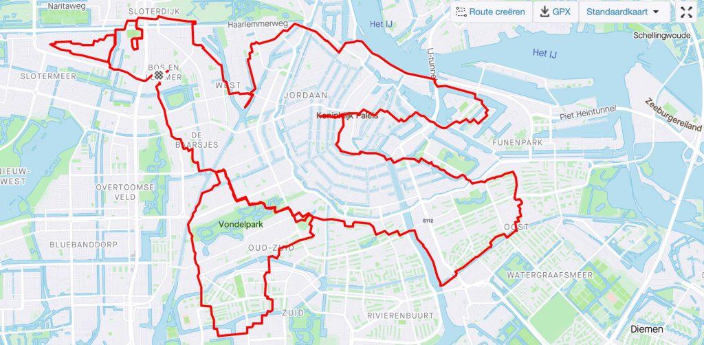 Bijzondere marathon: met dank aan Runbrandt en Polar