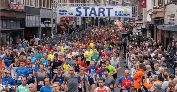 Leiden Marathon: het gaat door
