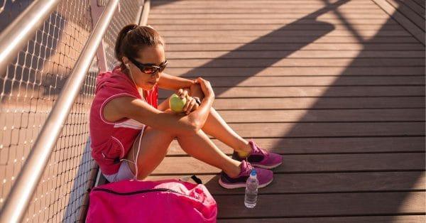 Wel of niet eten na het hardlopen?