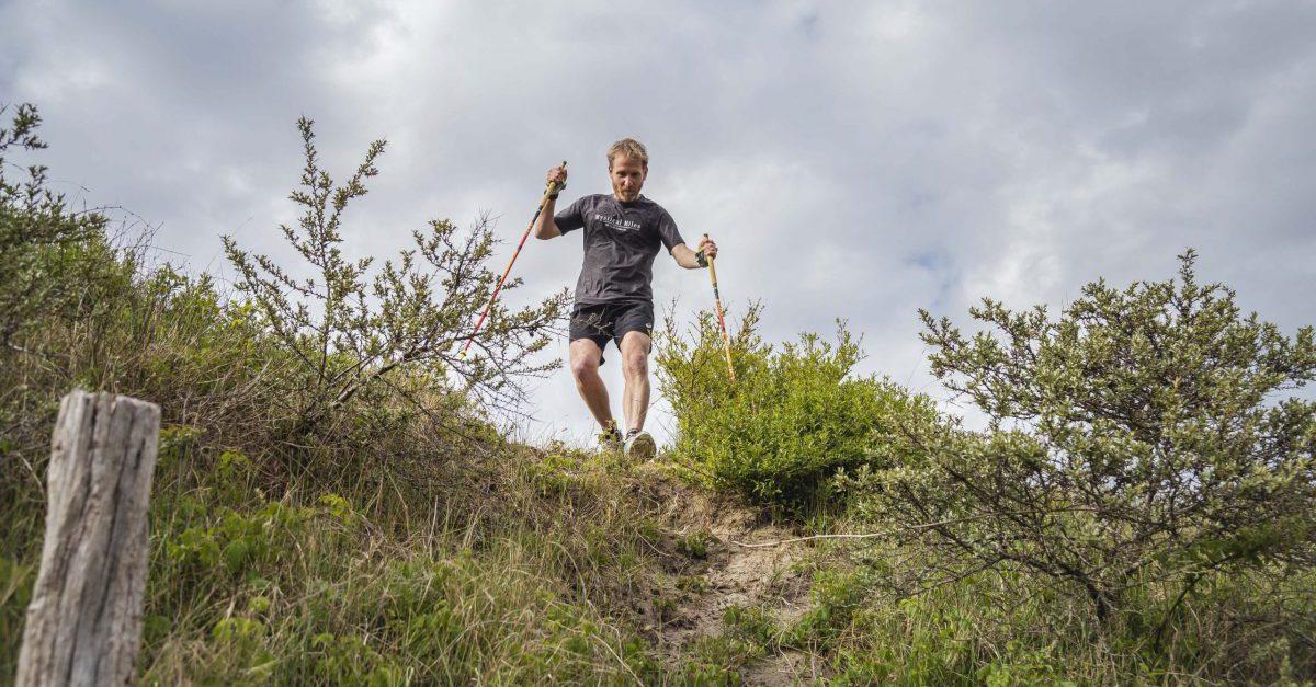 Wanneer gebruik je stokken met hardlopen?
