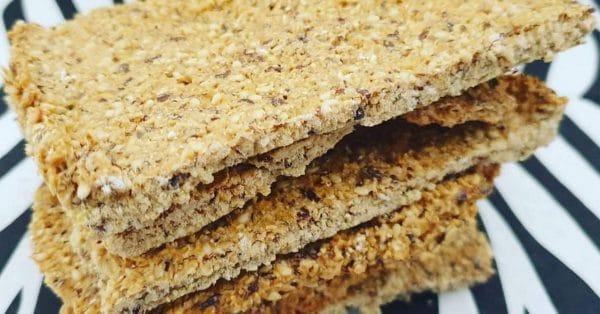 Karen's Kitchen: Voedzame crackers