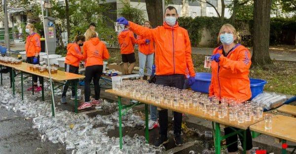 Eten en drinken voor, tijdens en na de marathon: koolhydraatmanagement